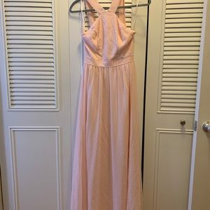 Lulus bridesmaid dress size xs pink